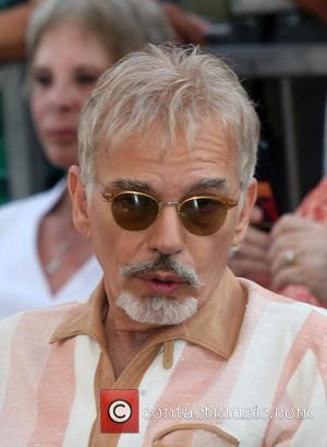 Billy Bob Thornton celebrates with Kathy Bates on the day she's been Honored With a Star On The Hollywood Walk...