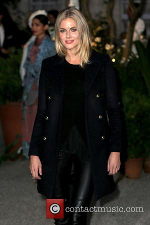 Donna Air seen outside the Burberry runway event at London Fashion Week Spring/Summer 2017 preview London, United Kingdom - Tuesday...