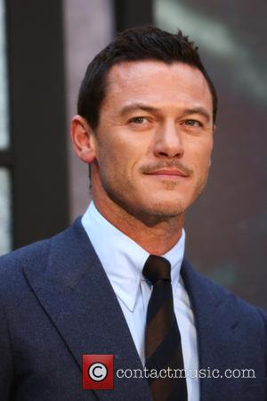 Luke Evans arriving at the The Girl on the Train World premiere held at Leicester Square Odeon - London, United...