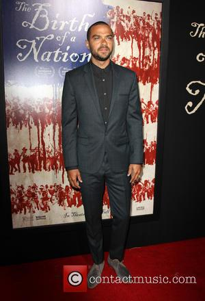 Jesse Williams at the LA Premiere of 'The Birth of a Nation' held at Cinerama Dome, Los Angeles, California, United...