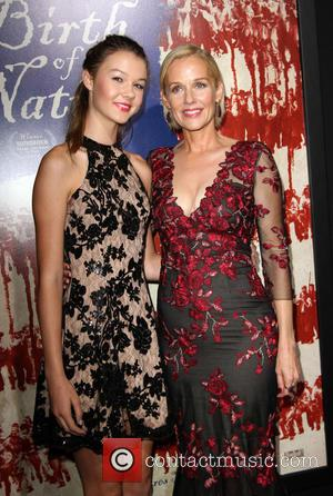 Penelope Ann Miller and Daughter Eloisa May Huggins