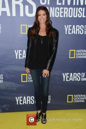 Shannon Elizabeth at National Geographic's 'Years Of Living Dangerously' New Season World Premiere held at The American Museum of Natural...