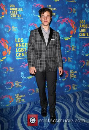 Nolan Gould at the Los Angeles LGBT Center's 47th Anniversary Gala Vanguard Awards held at Pacific Design Center - West...