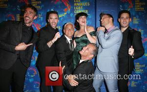 Paul Hollowell, Brian Justin Crum, Greg Louganis, Pauley Perrette, Lance Bass, Michael Turchin and Johnny Chaillot