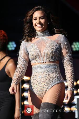 Demi Lovato Shares The Stage With Paulina Rubio At Mexico City Gig