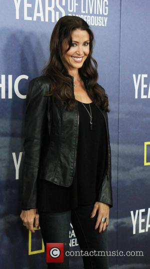 Shannon Elizabeth at National Geographic's 'Years Of Living Dangerously' Season 2 World Premiere held at American Museum of Natural History...