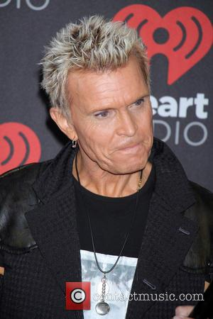 Billy Idol seen entering the iHeartRadio Music Festival held at T-Mobile Arena in Las Vegas, Nevada, United States - Friday...