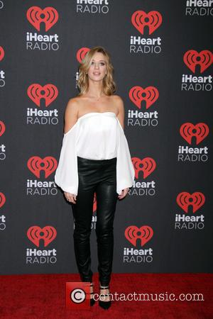 Yael Grobglas seen entering the iHeartRadio Music Festival held at T-Mobile Arena in Las Vegas, Nevada, United States - Friday...
