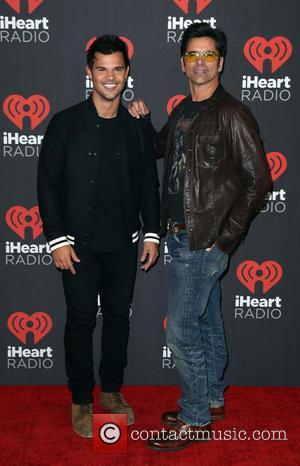 Taylor Lautner and John Stamos