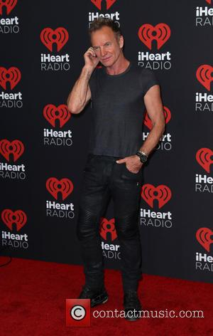 Sting aka Gordon Sumner seen entering the iHeartRadio Music Festival held at T-Mobile Arena Las Vegas, Nevada, United States -...