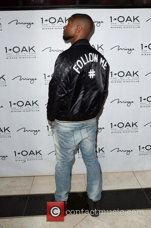 Usher at 1 Oak Nightclub as he Hosts The Official