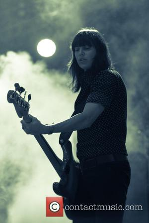 Russell Marsden and Emma Richardson of Band of Skulls seen performing at Life is Beautiful Festival held in Downtown Las...