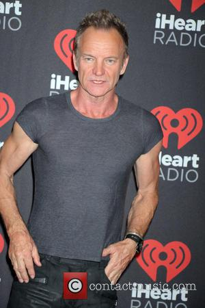 Sting aka Gordon Sumner seen entering the 2016 iHeartMusic Festival on the second Night held at TMobile Arena in Las...
