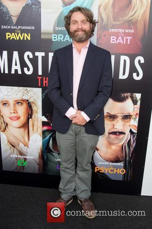 Zach Galifianakis at the premiere of Relativity Media's 'Masterminds' held at TCL Chinese Theatre, Hollywood, California, United States - Monday...