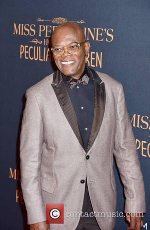 Samuel L. Jackson attending the New York premiere of 'Miss Peregrine's Home for Peculiar Children' held at Saks Fifth Avenue...