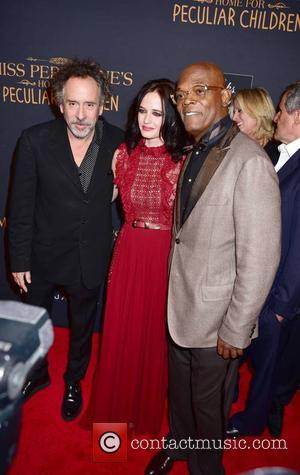 Tim Burton, Eva Green and Samuel L. Jackson