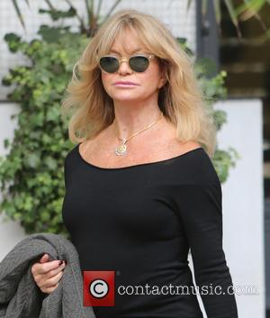 Actress Goldie Hawn outside ITV Studios - London, United Kingdom - Monday 26th September 2016