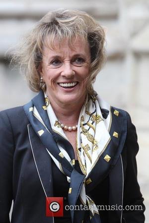 Esther Rantzen arrives at the Service of Thanksgiving for Sir Terry Wogan. Friends, Family and colleagues gather to celebrate the...