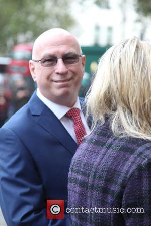 Ken Bruce arrives at the Service of Thanksgiving for Sir Terry Wogan. Friends, Family and colleagues gather to celebrate the...