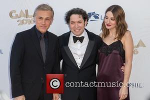 Christoph Waltz, Gustavo Dudamel and Maria Valverde