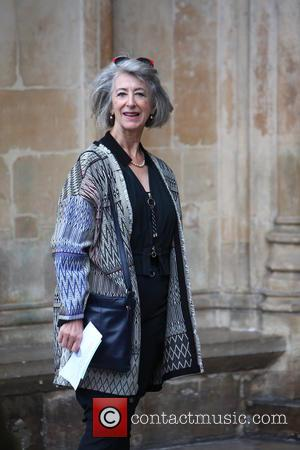 Maureen Lipman arrives at the Service of Thanksgiving for Sir Terry Wogan. Friends, Family and colleagues gather to celebrate the...