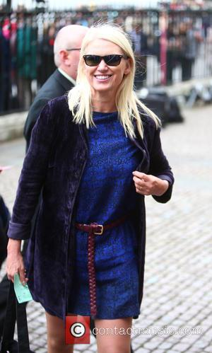 Anneka Rice arrives at the Service of Thanksgiving for Sir Terry Wogan. Friends, Family and colleagues gather to celebrate the...