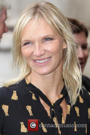 Jo Whiley arrives at the Service of Thanksgiving for Sir Terry Wogan. Friends, Family and colleagues gather at  Westminster...