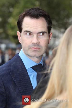 Jimmy Carr arrives at the Service of Thanksgiving for Sir Terry Wogan. Friends, Family and colleagues gather at  Westminster...