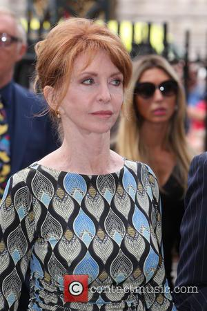 Jane Asher arrives at the Service of Thanksgiving for Sir Terry Wogan. Friends, Family and colleagues gather at  Westminster...