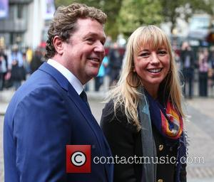 Michael Ball and Sara Cox