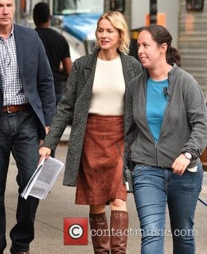 Naomi Watts films scenes for new Netflix series 'Gypsy' Naomi plays the lead character of Jean Holloway - Manhattan, New...