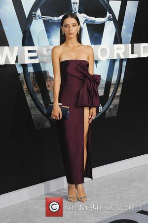 Angela Sarafyan at the premiere of the HBO drama series 'Westworld'  - Los Angeles, California, United States - Wednesday...