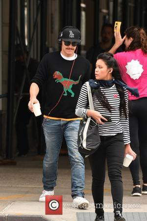James Franco out and about with a friend in SoHo, Manhattan - New York, United States - Wednesday 28th September...