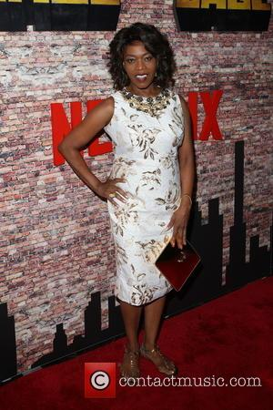 Alfre Woodard at the New York Premiere of Marvel's new series 'Luke Cage' held at AMC Magic Johnson Harlem Theatre...