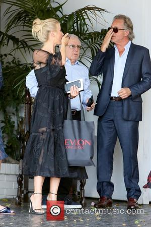Julianne Hough and Don Johnson