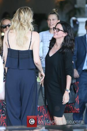 Courteney Cox, Erin Foster and Sara Foster