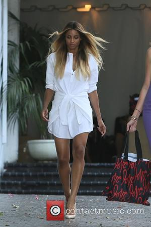 Ciara seen leaving Revlon's Annual Philanthropic Luncheon held at Chateau Marmont, West Hollywood, Los Angeles, California, United States - Wednesday...