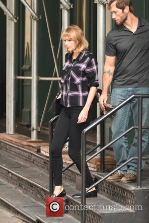 Taylor Swift leaving her Tribeca apartment in New York City - United States - Wednesday 28th September 2016