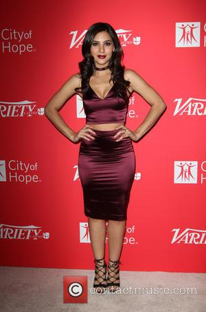 Camila Banus and Marlon Aquino at Variety Latino's '10 Latinos to Watch' event held at the London West Hollywood, Los...