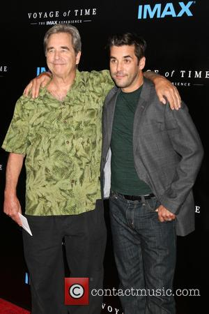 Beau Bridges and Jordan Bridges at the 'Voyage Of Time: The IMAX Experience' Premiere held at the California Science Center,...