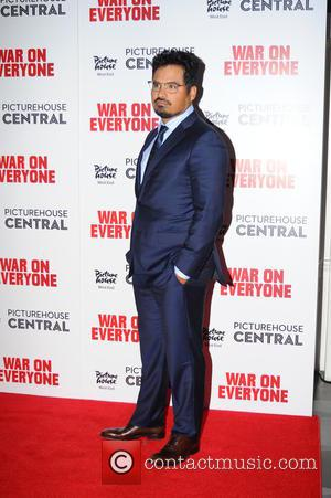 Michael Pena at the UK Premiere of 'War on Everyone' held at Picturehouse Central, London, United Kingdom - Thursday 29th...