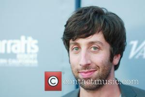 Simon Helberg and Jocelyn Towne at the San Diego International Film Festival's Night of the Stars Tribute sponsored by Variety...