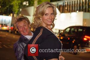Rod Stewart and Penny Lancaster at the opening of the new Annabel's, private members club, in London United Kingdom -...