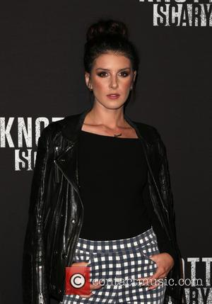 Shenae Grimes-Beech at Knott's Scary Farm Black Carpet Party held at Knott's Berry Farm - Buena Park, California, United States...