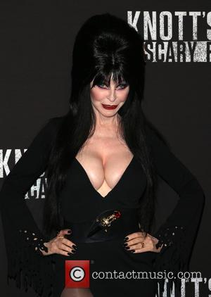 Cassandra Peterson and Aka Elvira
