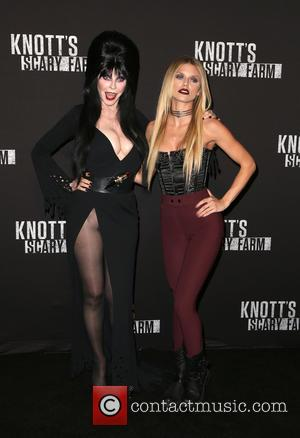 Cassandra Peterson, Aka Elvira and Annalynne Mccord
