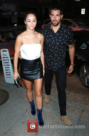 Cara Santana and Jesse Metcalfe arrive at Craig's restaurant - Los Angeles, California, United States - Friday 30th September 2016
