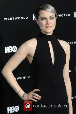 Evan Rachel Wood at the premiere of the HBO drama series 'Westworld'  - Los Angeles, California, United States -...