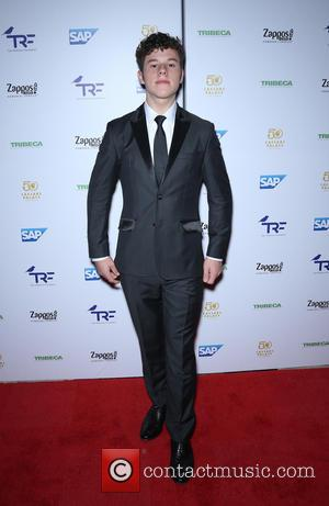 Nolan Gould at the 'Slay Cancer With Dragons' event. Grammy award winning band Imagine Dragons perform in Rock Las Vegas...