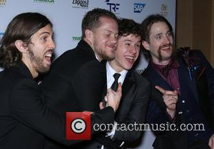 Imagine Dragons and Nolan Gould